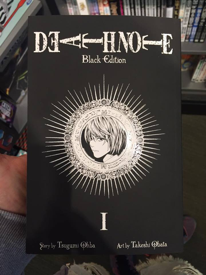 death note 3 Death Note Black Edition Death Note Black Edition death note 3